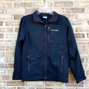 Columbia 》 Mens Black Lightweight Jacket